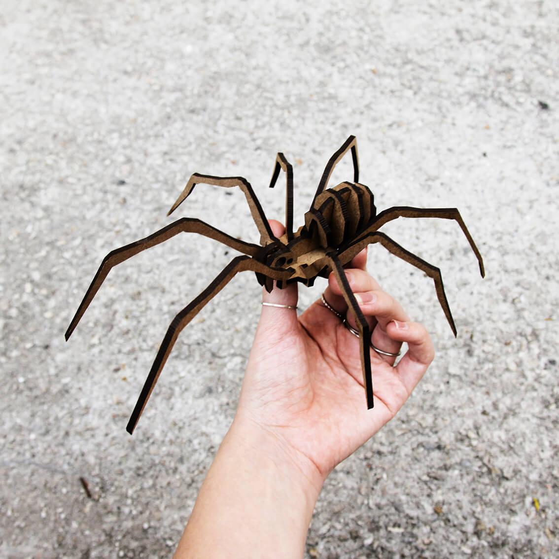 Miniatura para montar Aranha (Cutz)