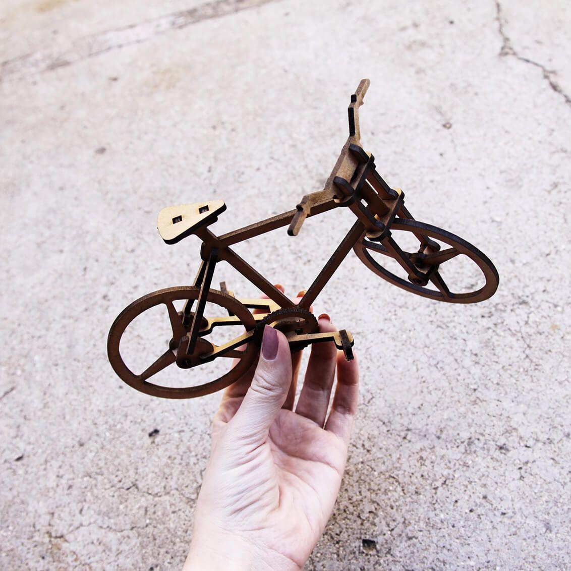 Bicicletas - Miniatura para montar Bicicleta