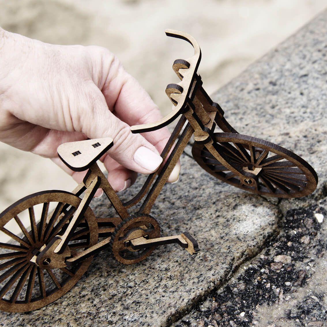 Bicicletas - Miniatura para montar Bicicleta de Passeio