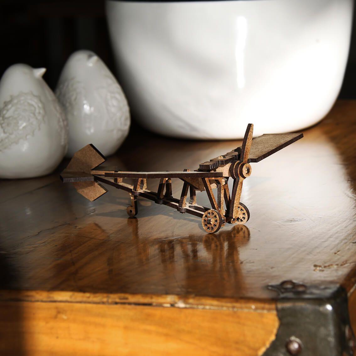 Aviões - Miniatura para montar Demoiselle