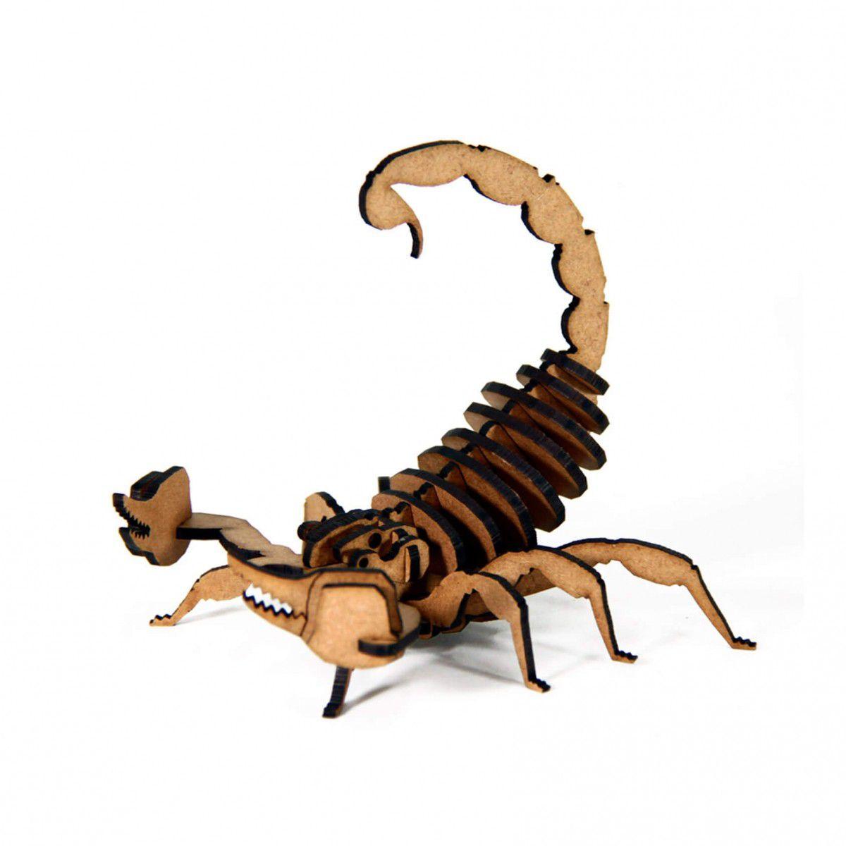 Aracnídeo - Miniatura para montar Escorpião