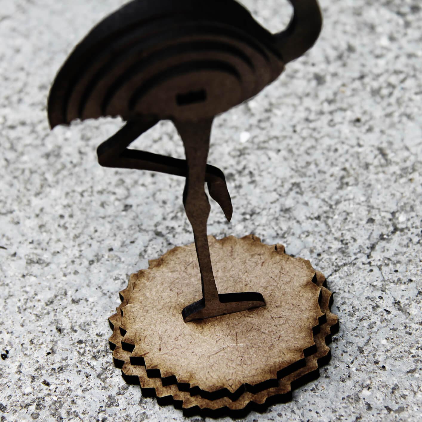Miniatura para montar Flamingo (Cutz)