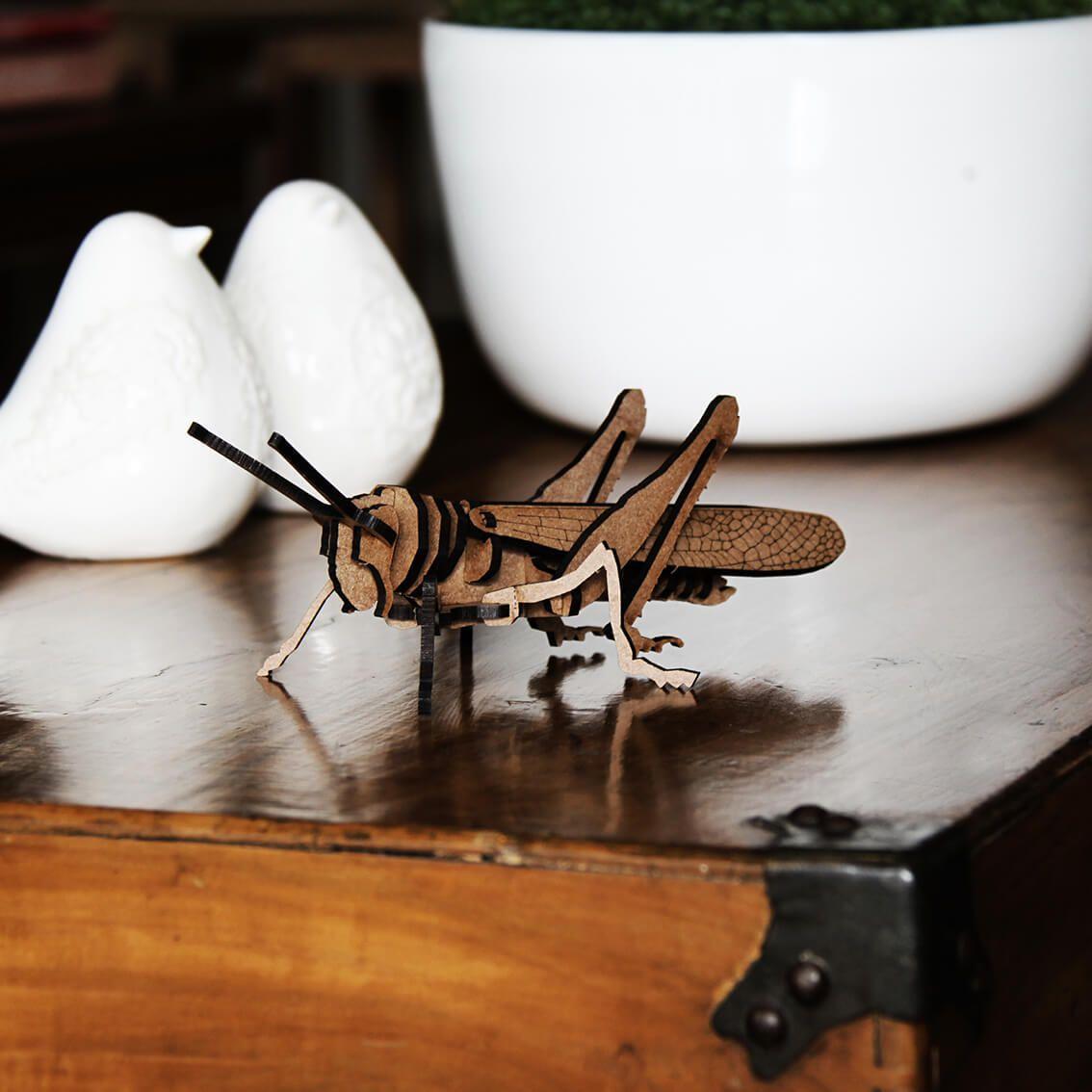 Insetos - Miniatura para montar Gafanhoto