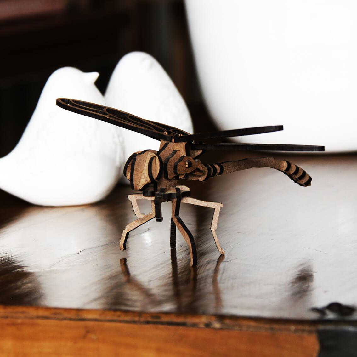 Miniatura para montar Libélula (Cutz)