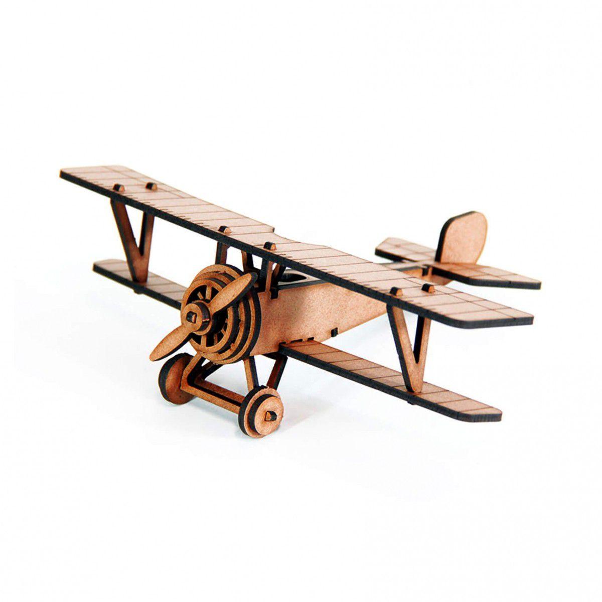 Aviões - Miniatura para montar Nieuport 17 (Cutz)