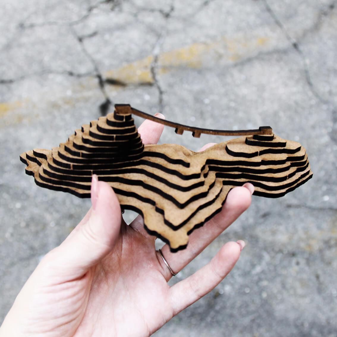 Rio de Janeiro - Miniatura para montar Pão de Açúcar