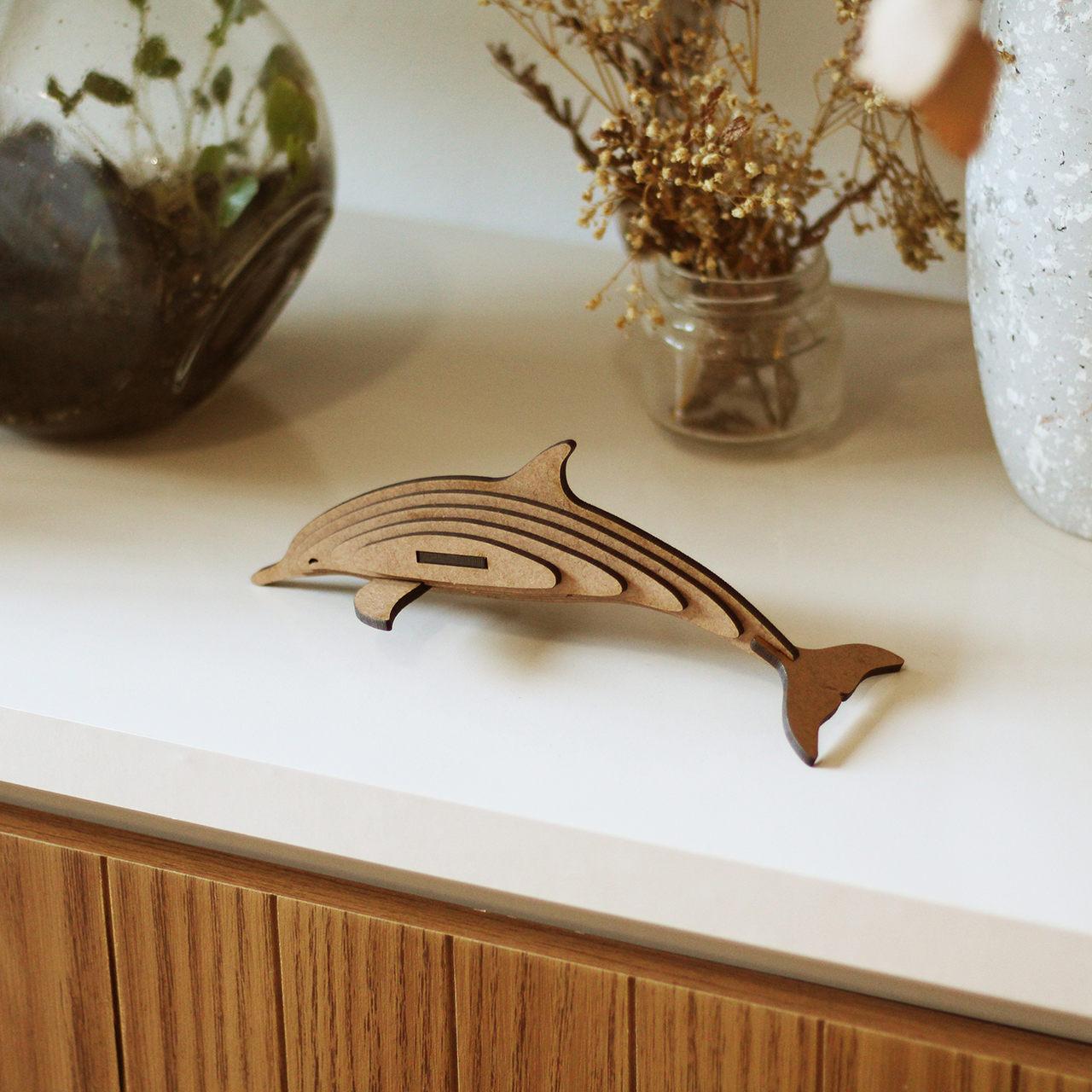 Miniatura para montar Golfinho
