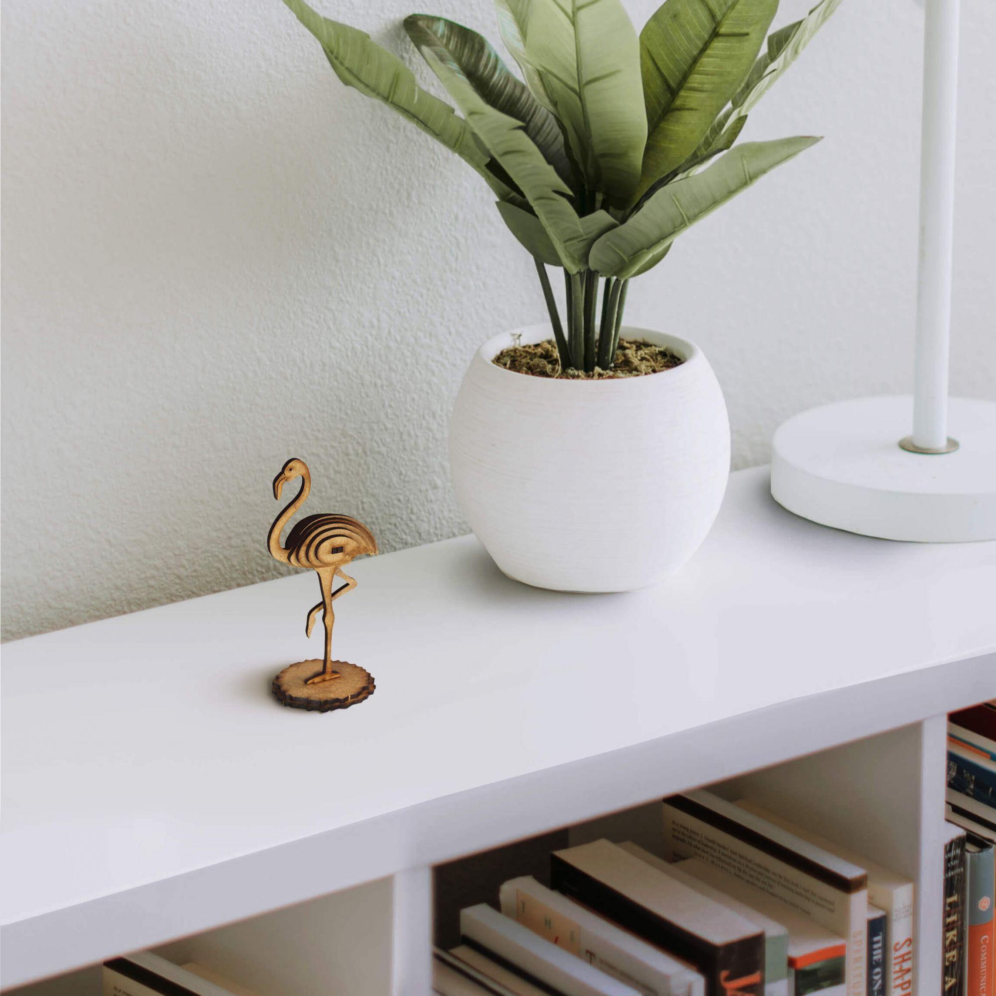 Natureza - Miniatura para montar Flamingo