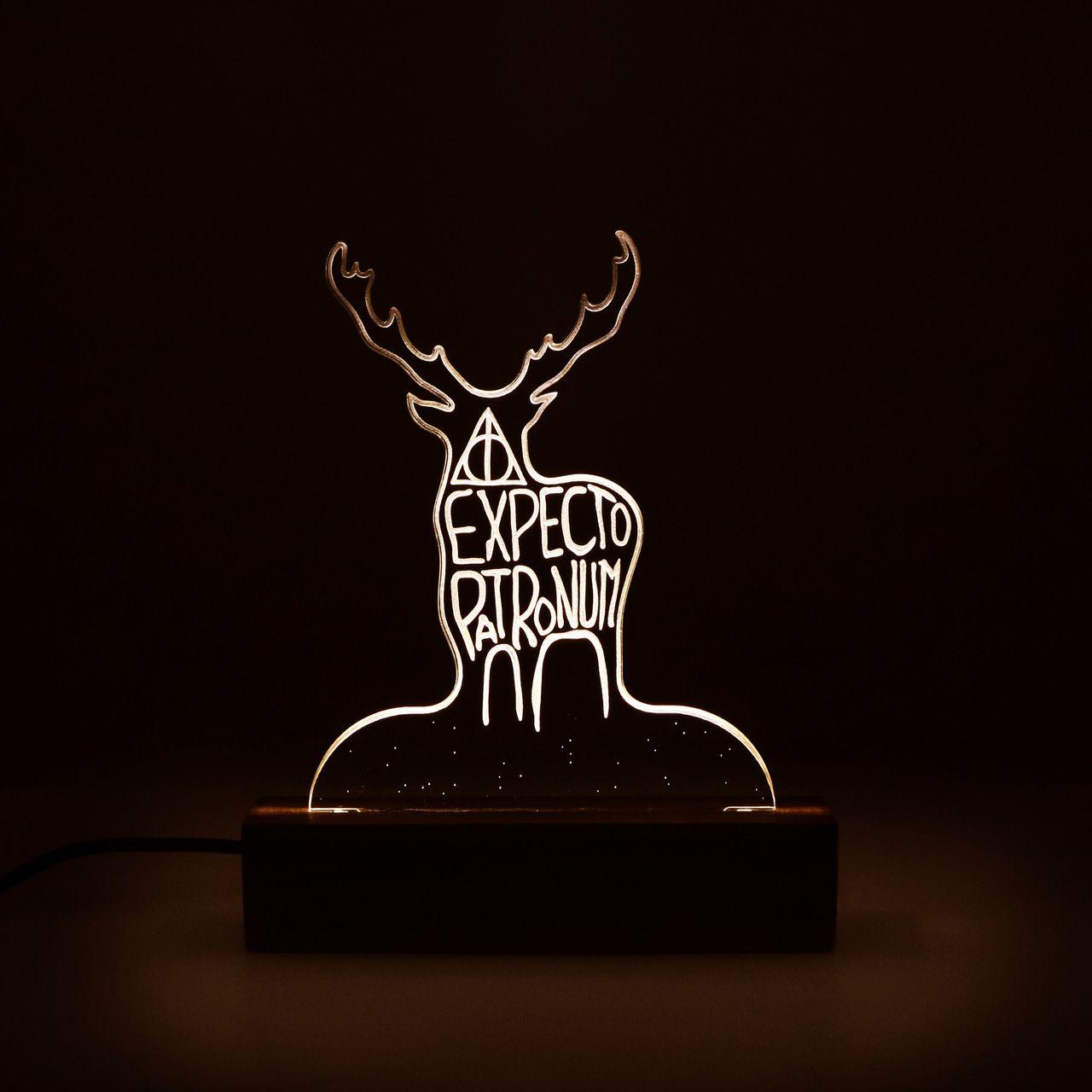 Geek - Luminária Patrono