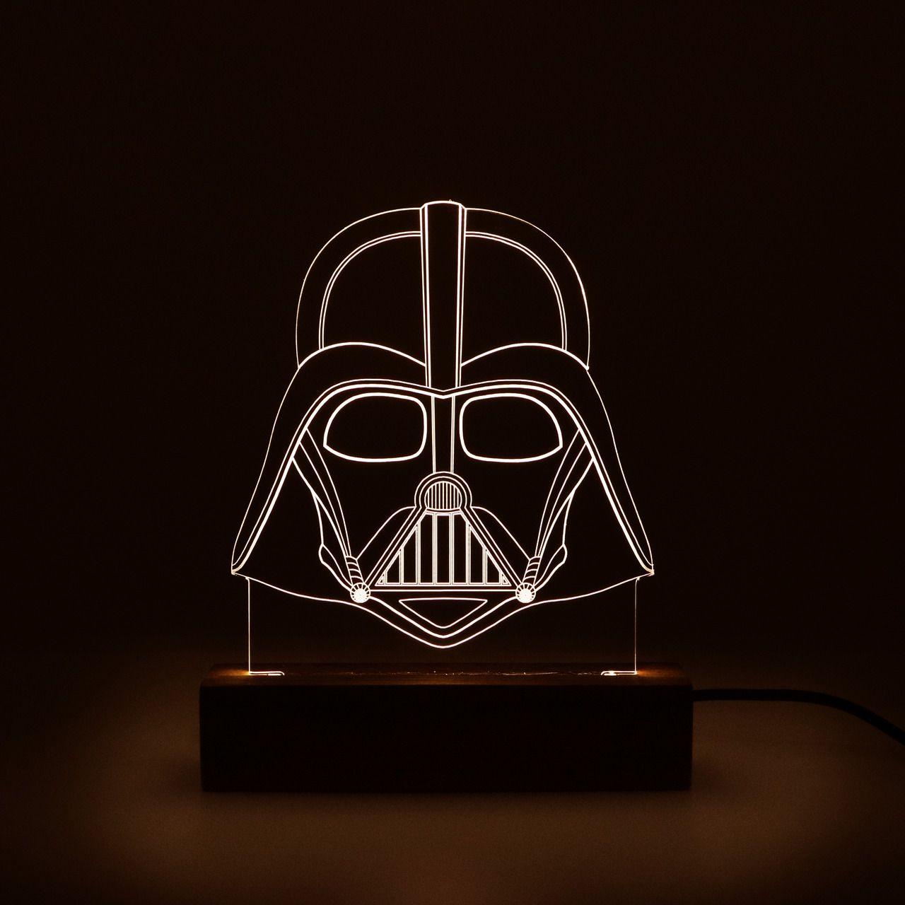 Geek - Luminária Vader