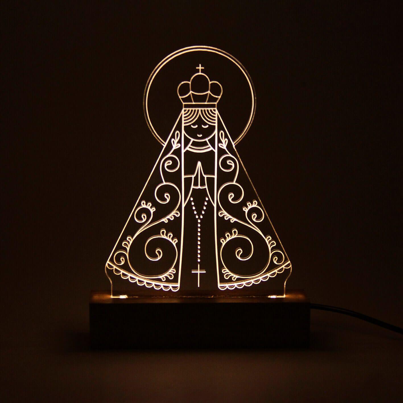 Fé - Luminária Nossa Senhora