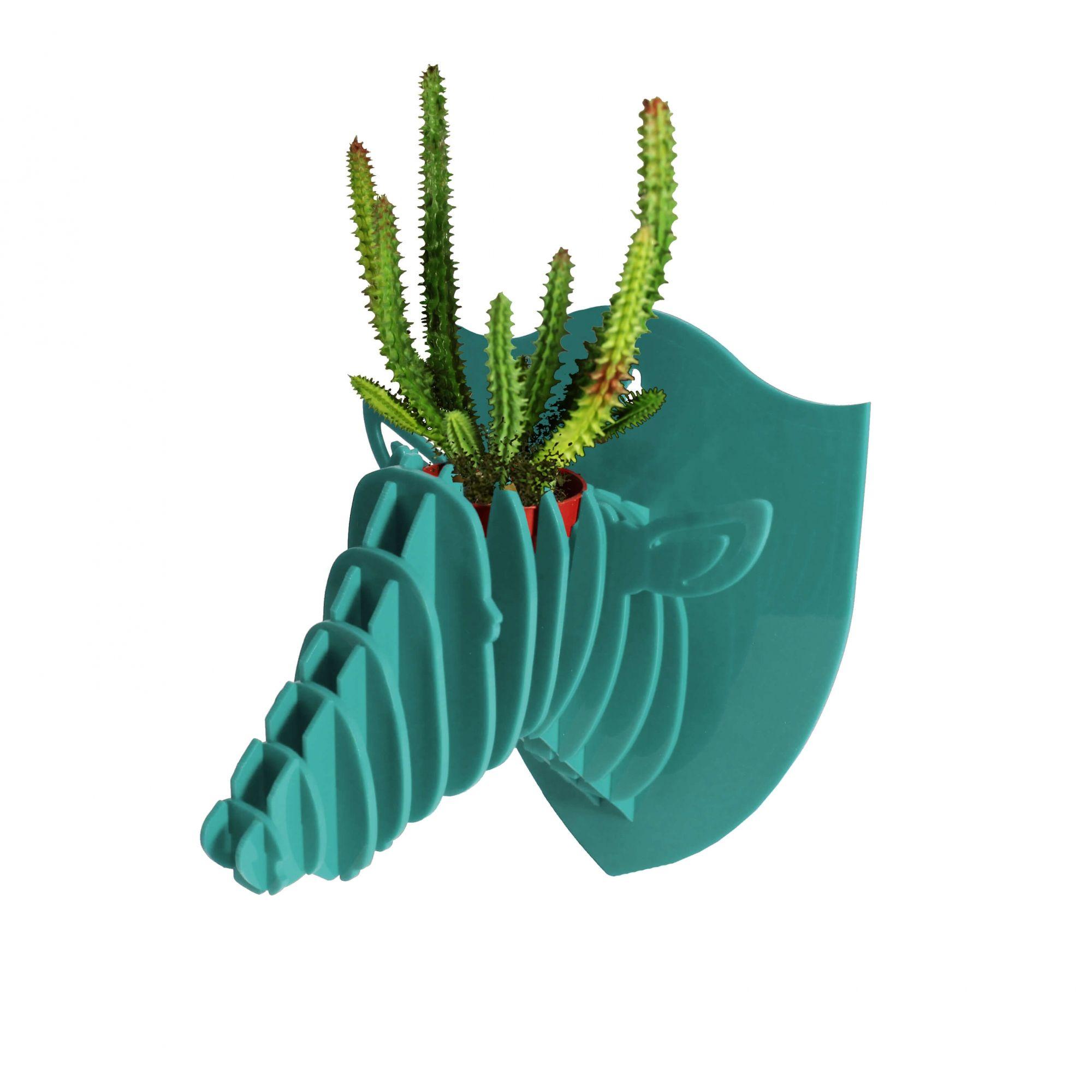 Cabeça para montar em acrilico verde água - Ônix