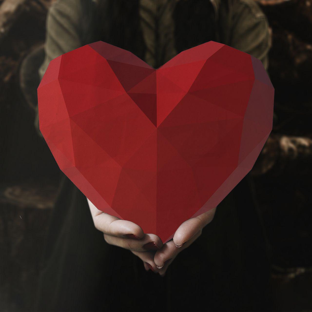 Papercraft Coração