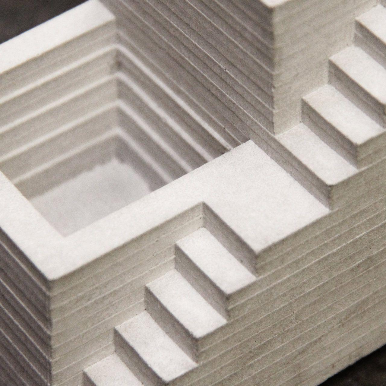 Porta Lápis de cimento