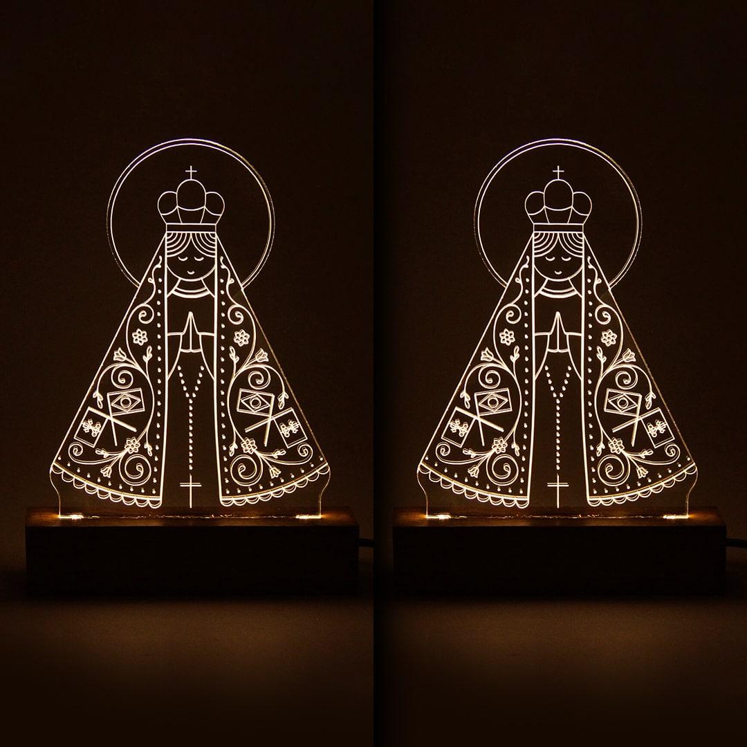 PROMOÇÃO 2 Luminárias Nossa Senhora Aparecida