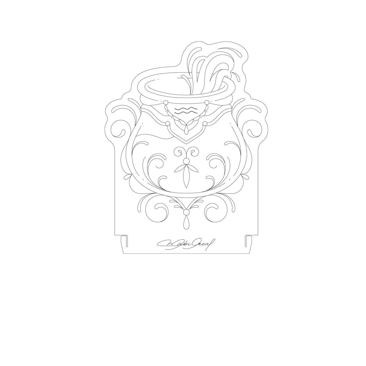 Signo - Acrílico Aquário