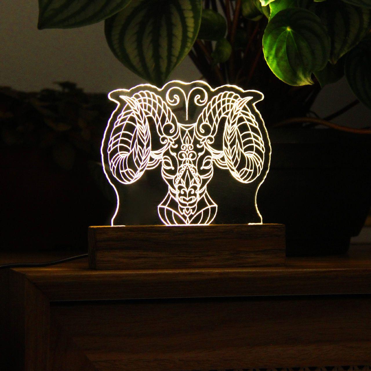 Signo - Luminária Áries