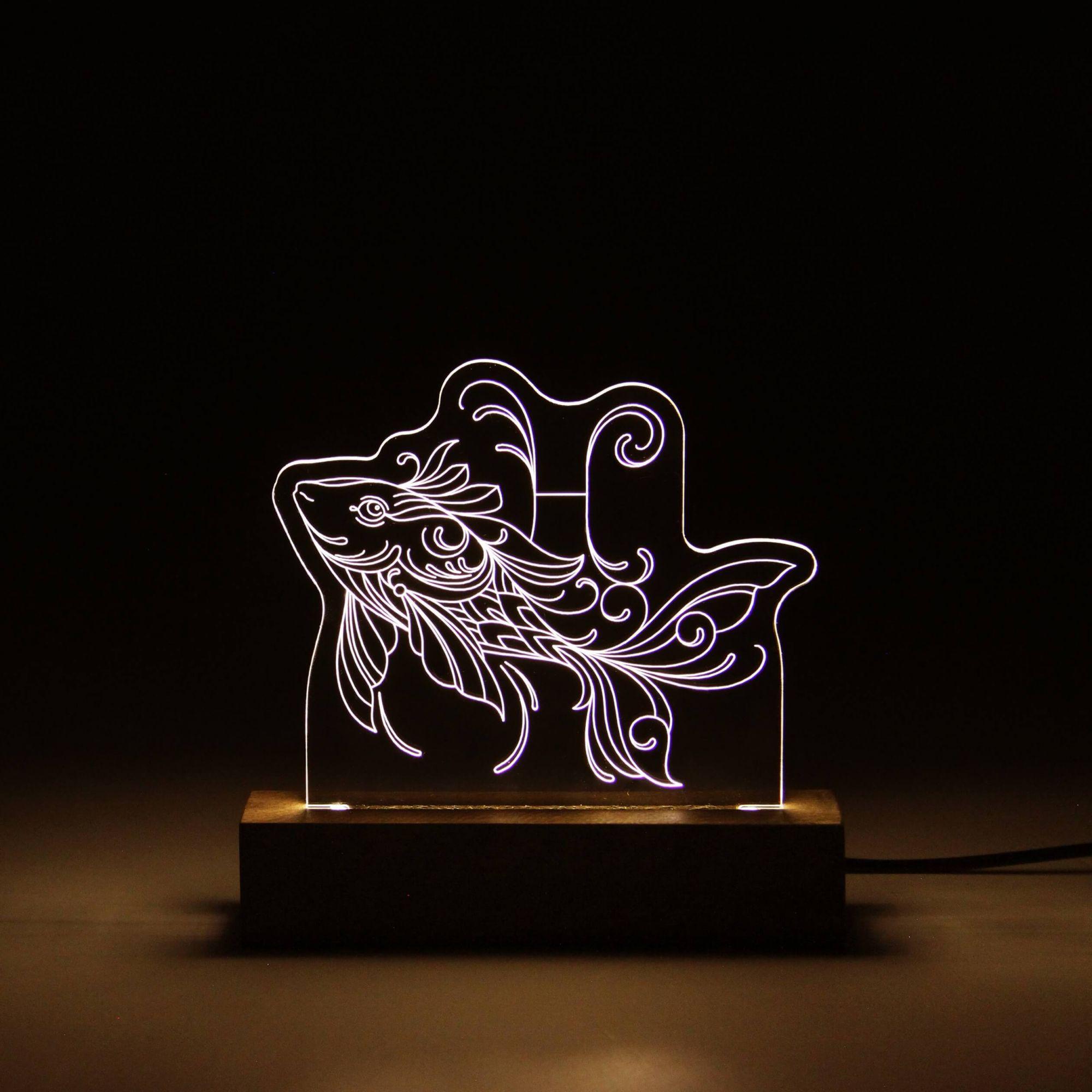 Signo - Luminária Peixes