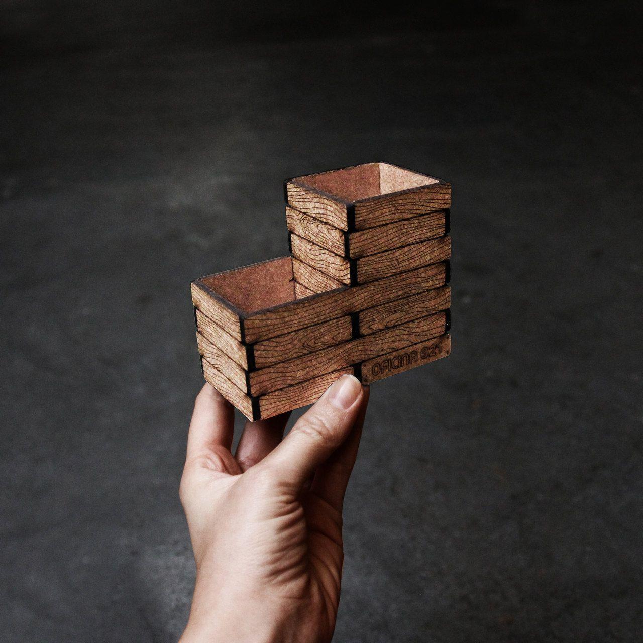 Utilidades - Miniatura para montar Porta lápis