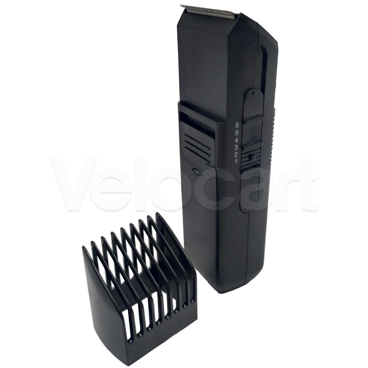 Barbeador E Aparador Maquina De Corta Cabelo Sem Fio Bateria f24356da3df5