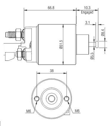 AUTOMATICO MOTOR PARTIDA CAPTIVA 3.6 SUZUKI XLT 3.6 12v