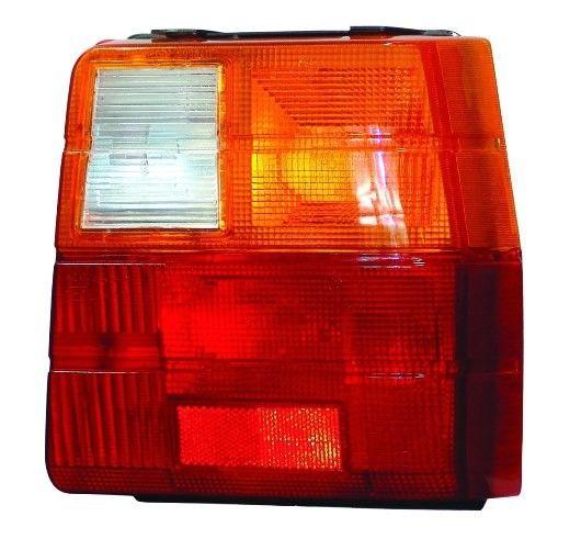 Lanterna Traseira Uno 1985 >2003 Tricolor Âmbar