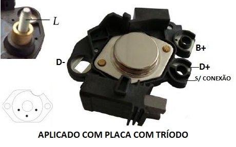 REGULADOR VOLTAGEM ALTERNADOR CORSA BLAZER ASTRA OMEGA VECTRA S10