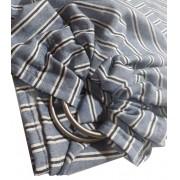 Sling de Argolas Eco Jeans Listrado