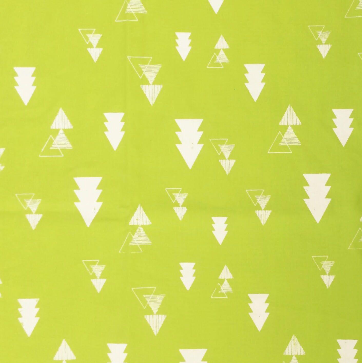 Fast Wrap Verde Triângulos