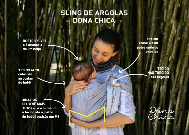 Sling de Argolas Preto
