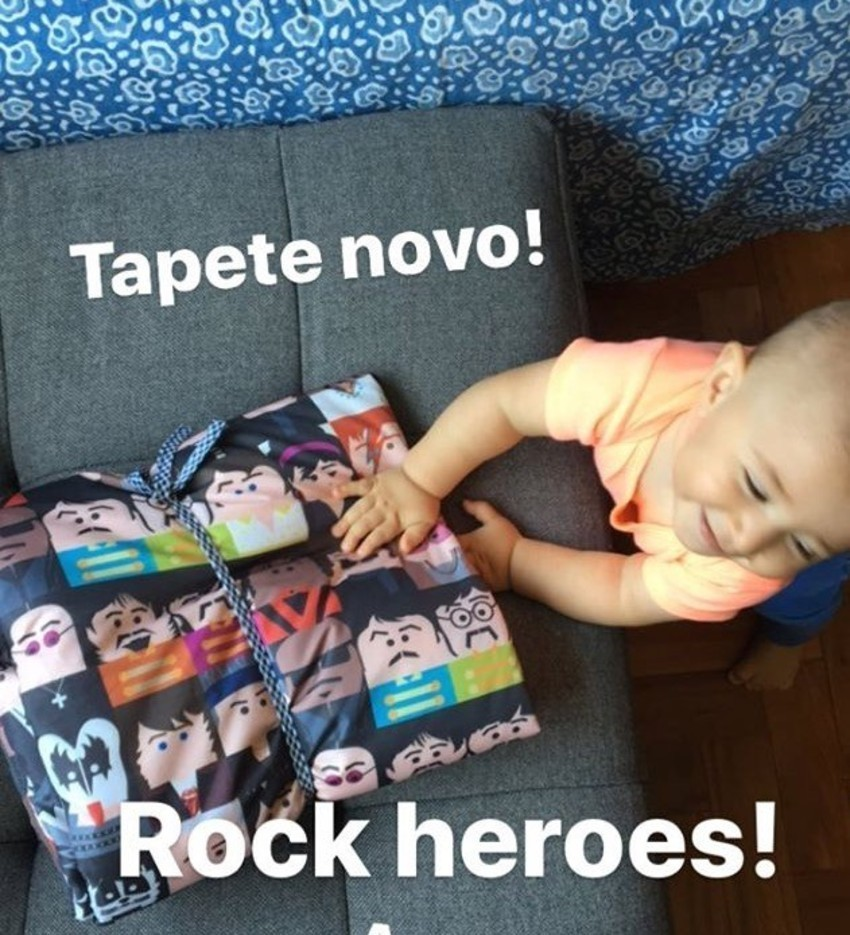 Tapete Heróis do Rock