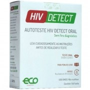 Auto Teste HIV Detect Oral HIV1 e HIV2