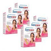 Dilatador Nasal Feminino Kit 6 caixas com 10 unidades Sancare