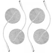 Eletrodo Adesivo Flexível Fisioterapia Com 4 Unidades Redondo 5cm Carci