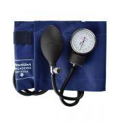 Esfigmomanômetro Medidor de Pressão Aneroide Nylon com Velcro G-TECH Premium