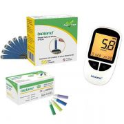 Kit Com 01 Cx. Fita 01 Cx. Lanceta23G e 01 Medidor Glicose
