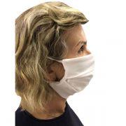 Máscara de Proteção Tecido 100% Algodão Lavável Bioland