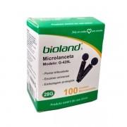 Microlanceta Para Glicosímetro G428L Bioland (com 100un.)