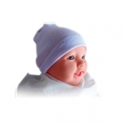 Touca Baby Recém Nascido Branco Unidade Dejamaro