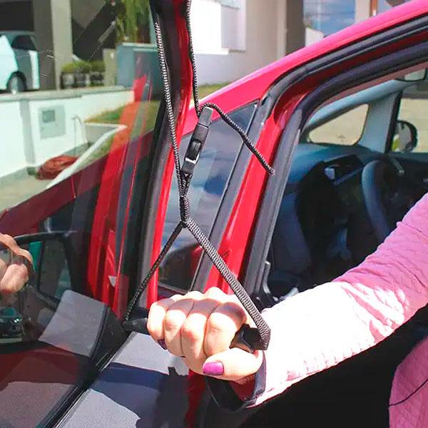Alça de Janela Veicular Para Auxiliar na Entrada e Saída do Carro Longevitech