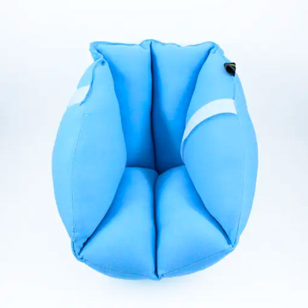 Almofada Protetora de Anti Escaras Calcanhar Pés Acamados Par Longevitech