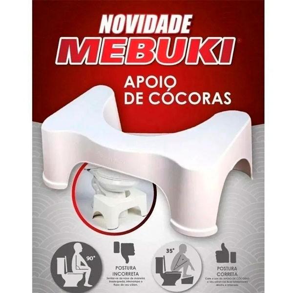 Apoio De Cócoras Para Vaso Sanitário Antiderrapante Mebuki
