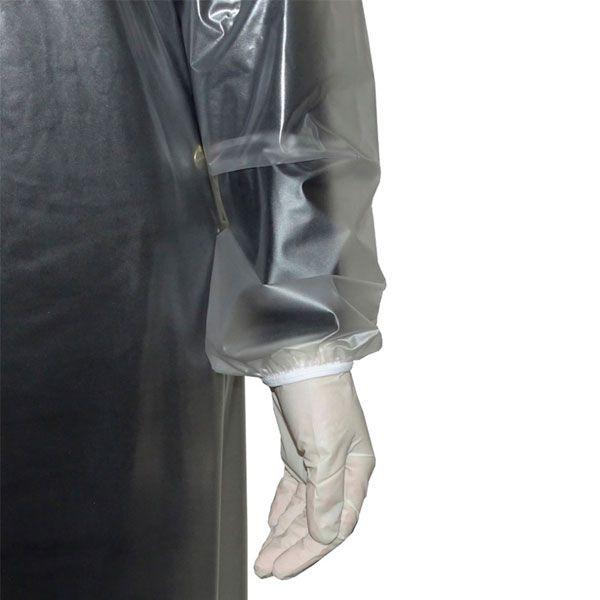 Avental Resistente PVC 10mm Manga Longa e Tiras Cipel