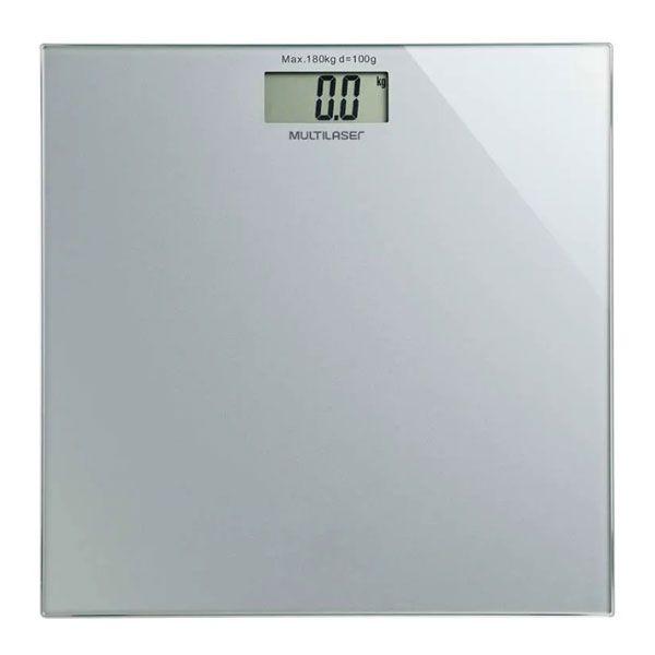Balança Digital Digi-Health Prata HC021 Multilaser