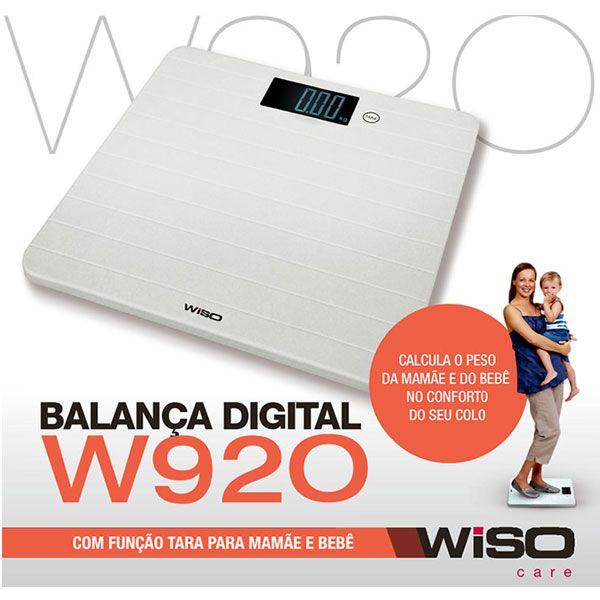 Balança Digital Mamãe bebê W920 Wiso
