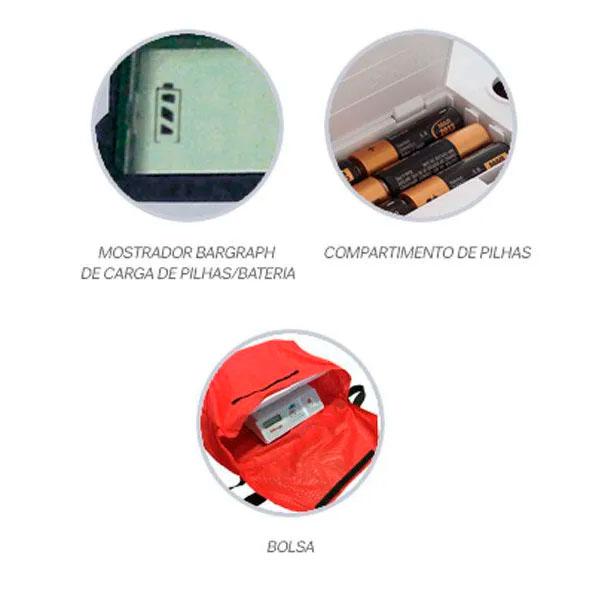 Balança Digital Pediátrica (Mobile Baby) ELP-25BBC Balmak