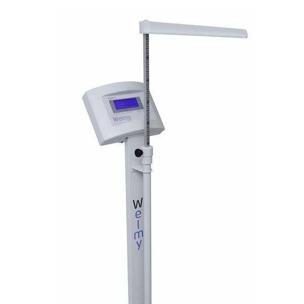Balança Eletrônica Adulto W 200 A Antropométrica Branca Welmy