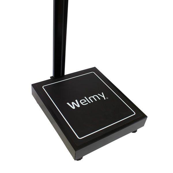 Balança Eletrônica Adulto W 200 A Antropométrica Preta Welmy