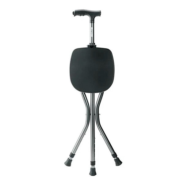 Bengala Ortopédica Multiuso Com Assento e Lanterna HC071 Multilsaser