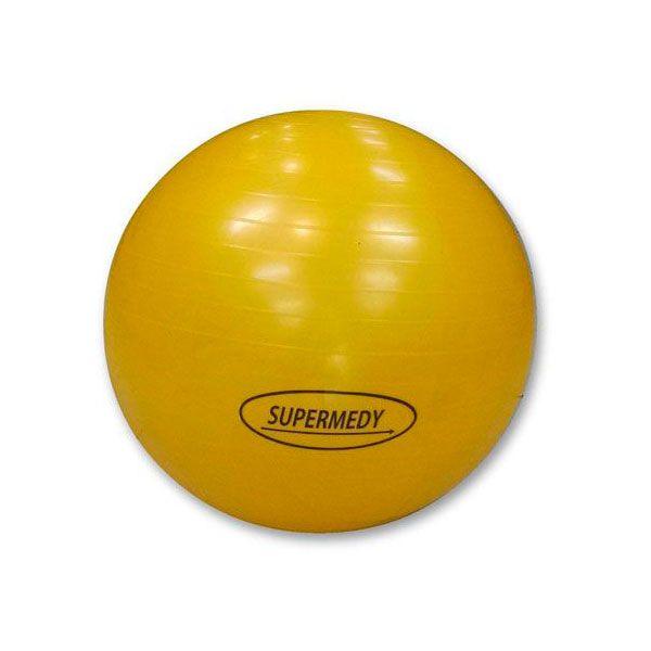 Bola Para Ginástica 45cm amarela Supermedy